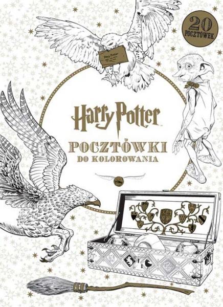 Harry Potter. Pocztówki do kolorowania