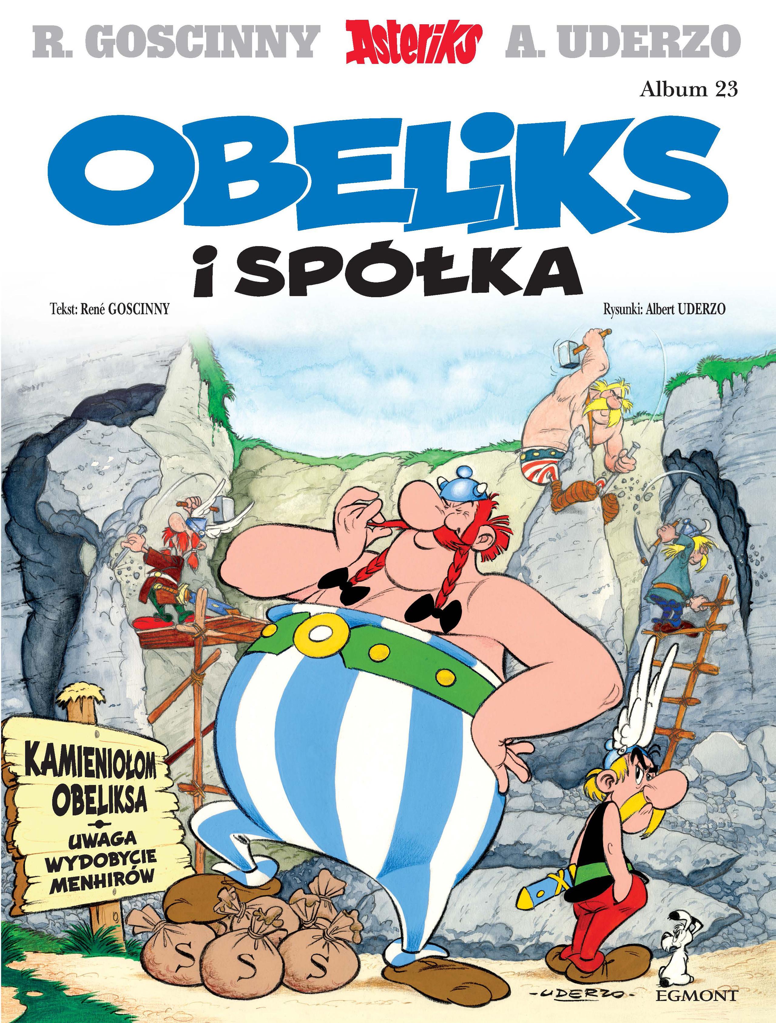 Obeliks i spółka. Asteriks. Album 23