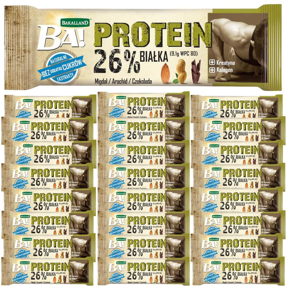 Ba! Baton Proteinowy Orzech i Migdał Zestaw