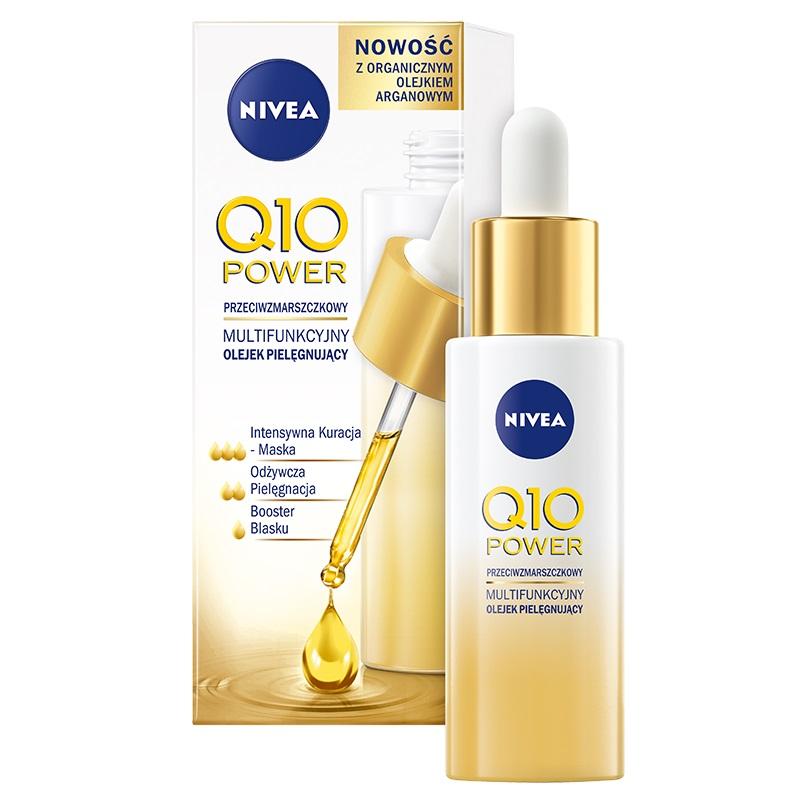 Multifunkcyjny olejek pielęgnujący do twarzy Q10 Power