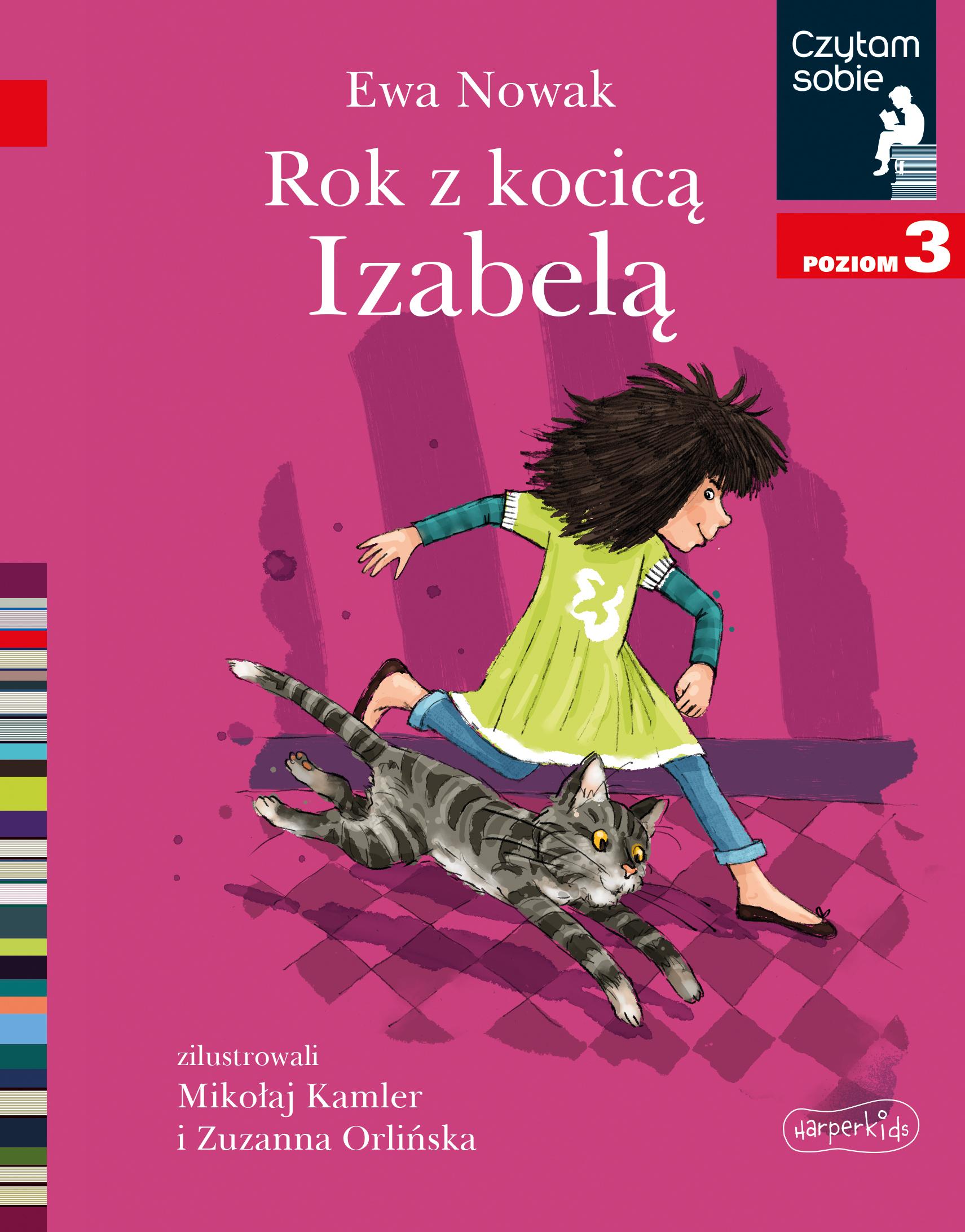 Rok z kocicą Izabelą. Czytam sobie. Poziom 3