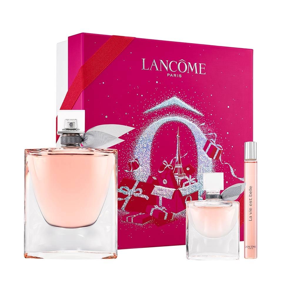 Zestaw Woda perfumowana La Vie Est Belle + Mini woda perfumowana + Mini woda perfumowana