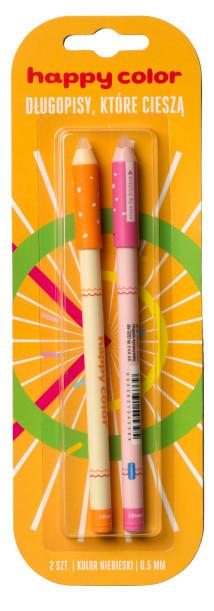 Długopis usuwalny Buźki Happy Color