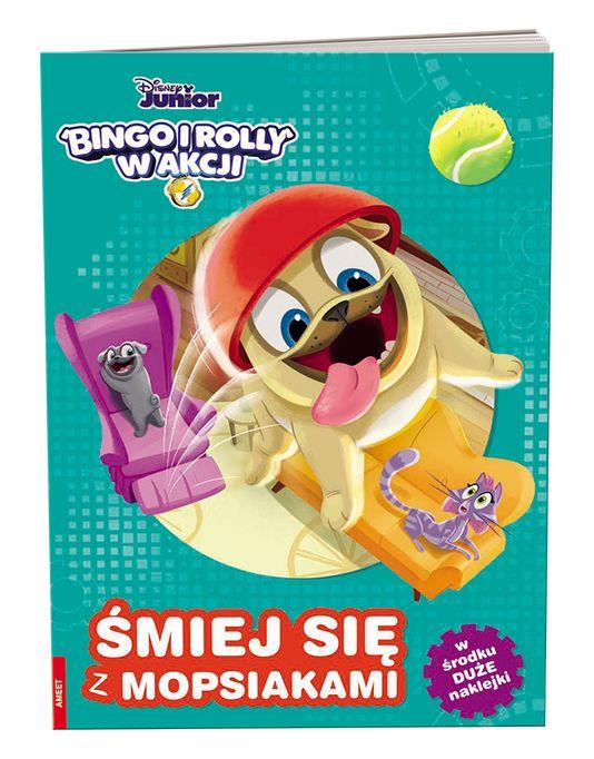 Bingo i Rolly w akcji. Śmiej się z mopsikami