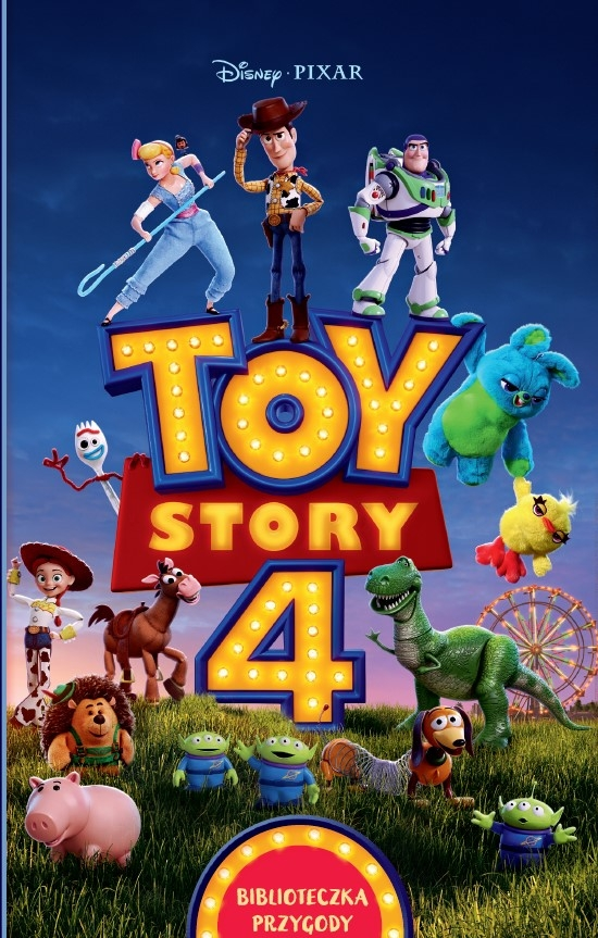 Toy Story 4. Biblioteczka przygody. Disney Pixar