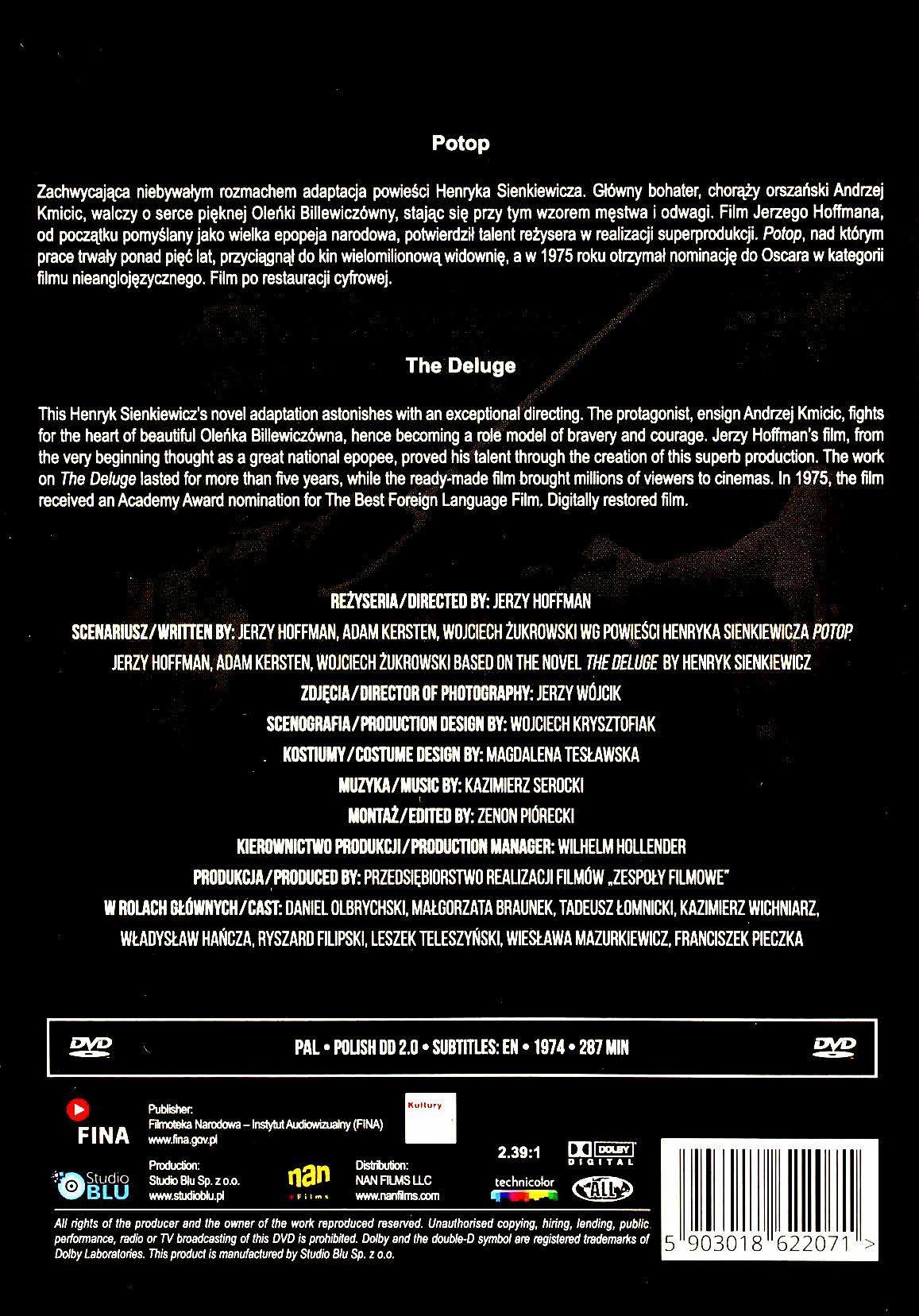 Potop cz.1-2 DVD