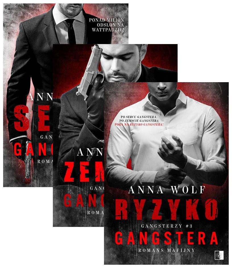 Pakiet Gangsterzy. Tom 1-3: Serce gangstera, Zemsta gangstera, Ryzyko Gangstera