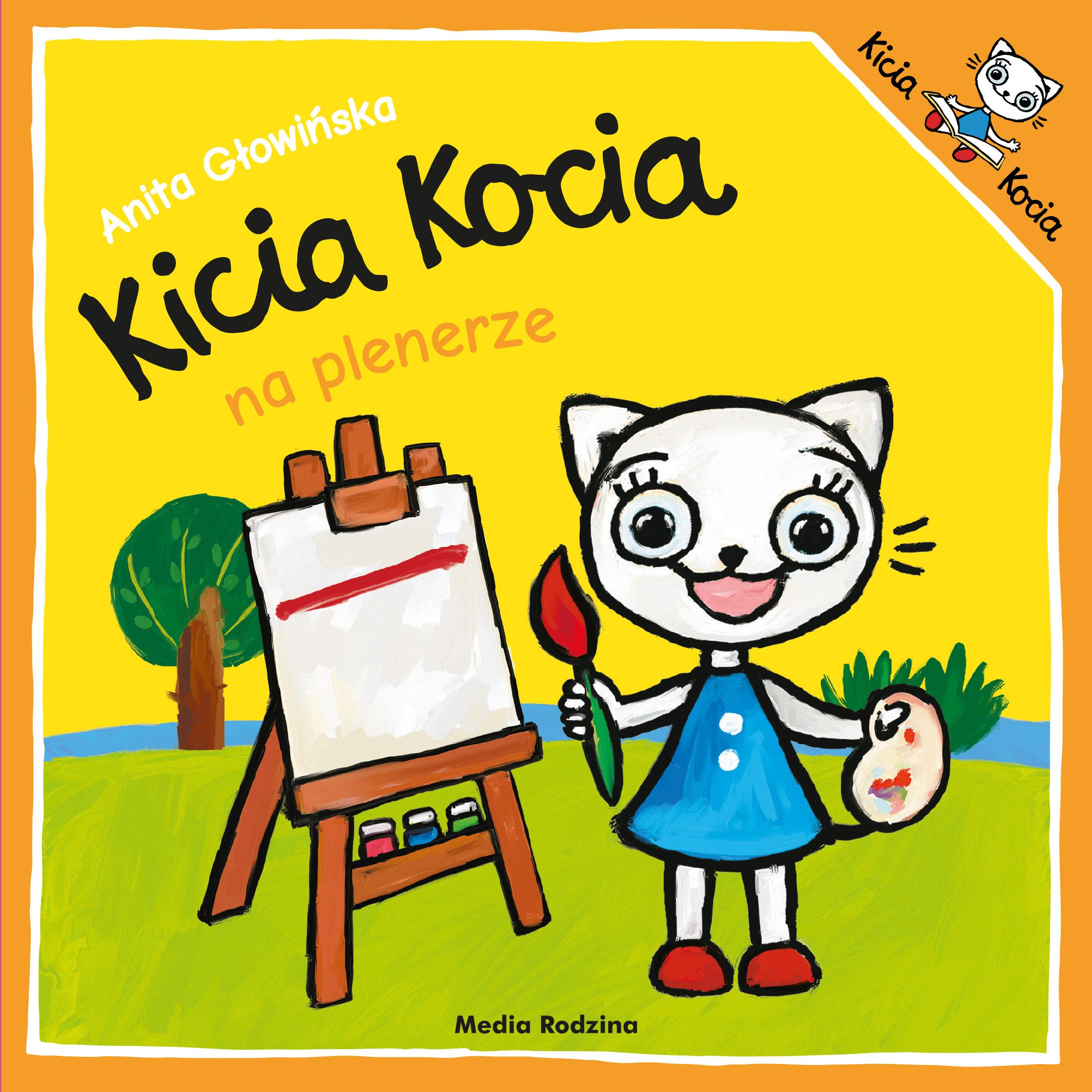 Kicia Kocia na plenerze
