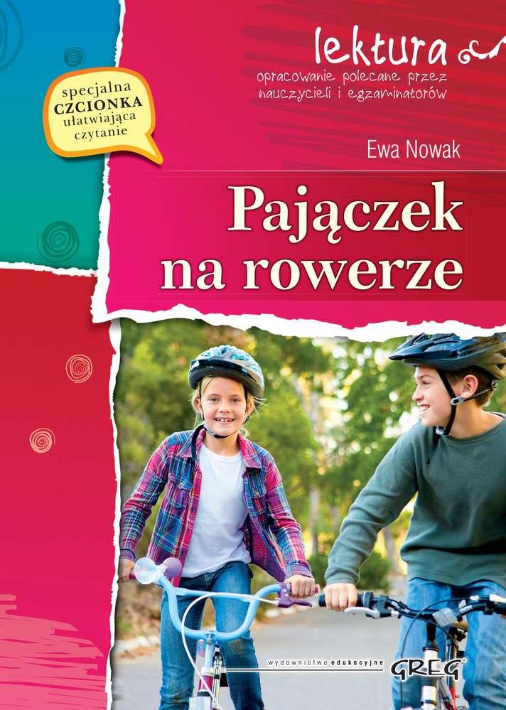 Pajączek na rowerze lektura z opracowaniem