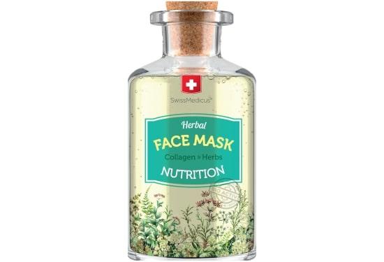 Odżywcza ziołowa maseczka do twarzy