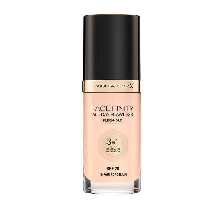 Facefinity All Day Flawless 3in1 Foundation SPF20 podkład do twarzy 10 Fair Porcelain