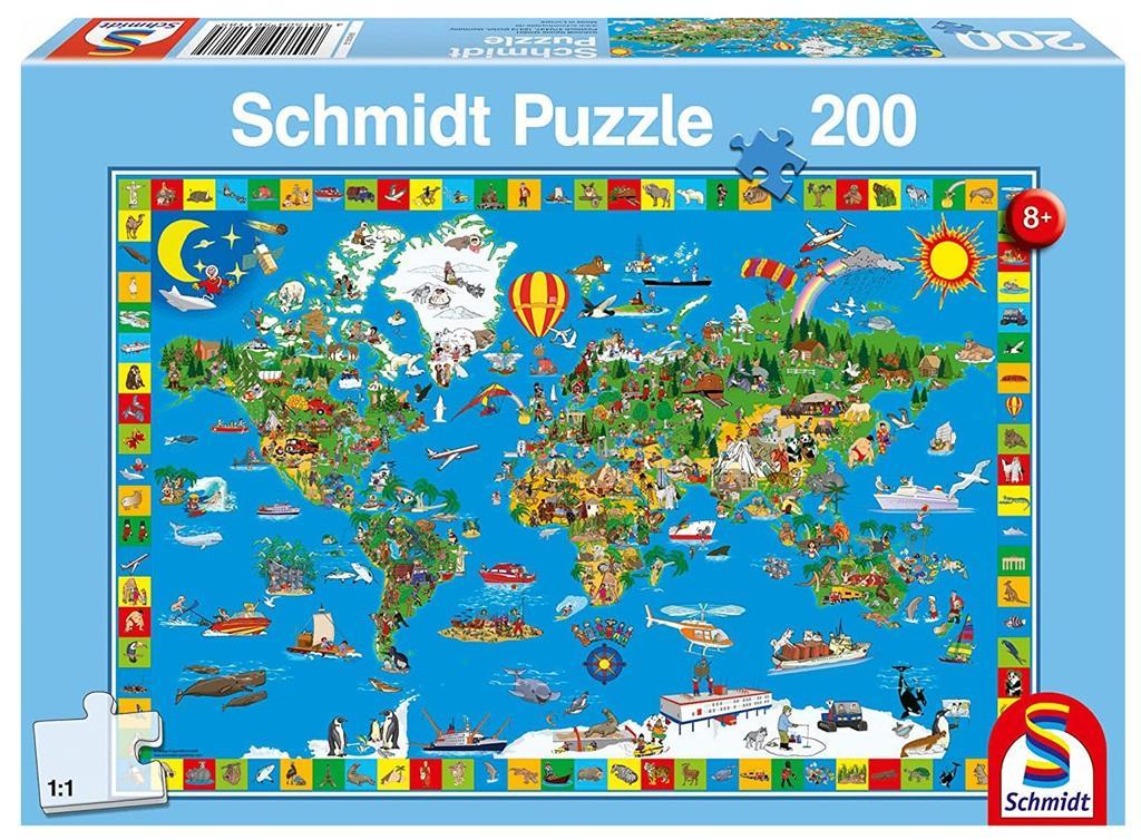 Puzzle 200 el. Twój niesamowity świat