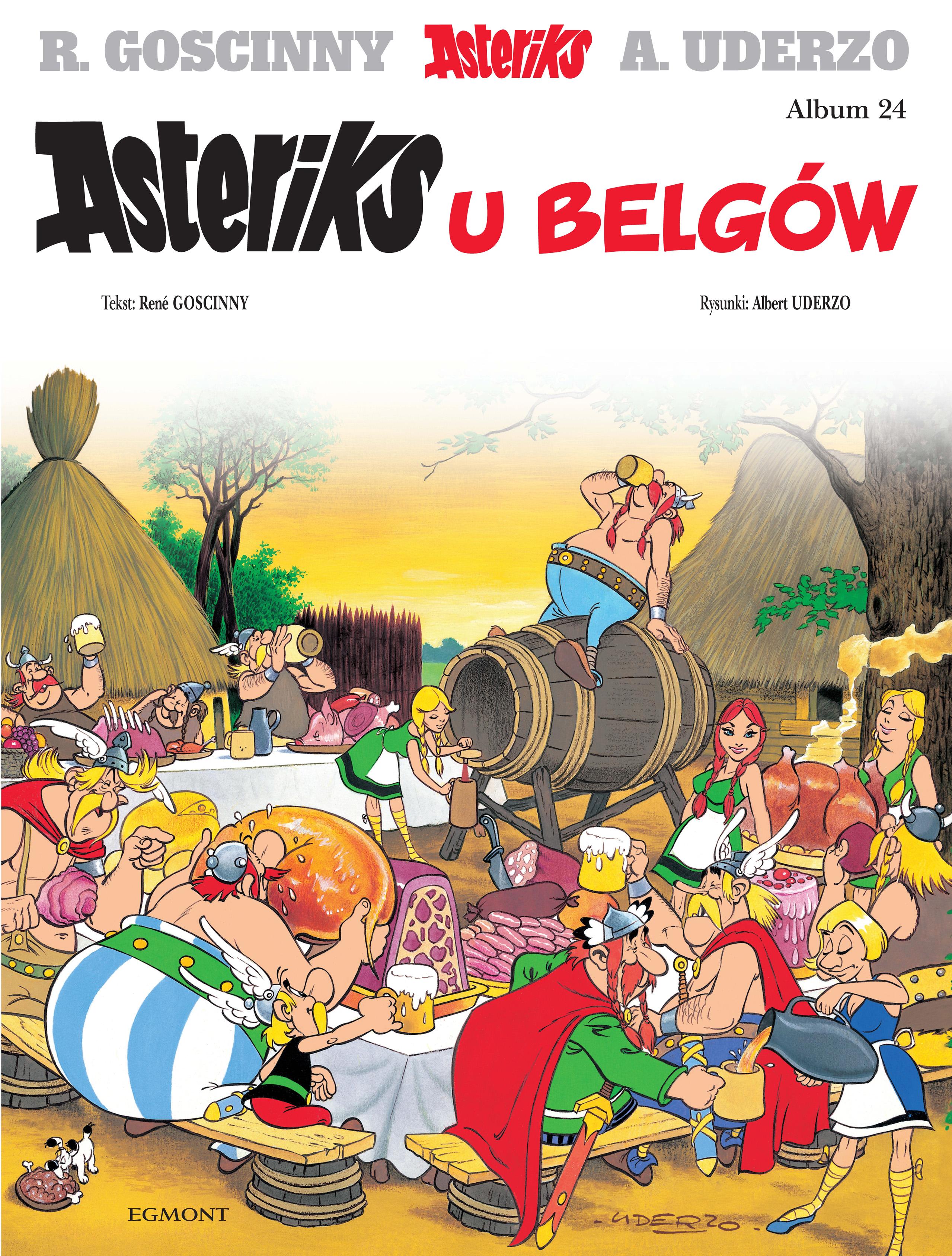 Asteriks u Belgów. Asteriks. Album 24