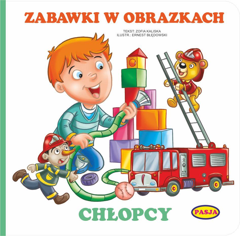 Zabawki w obrazkach chłopcy