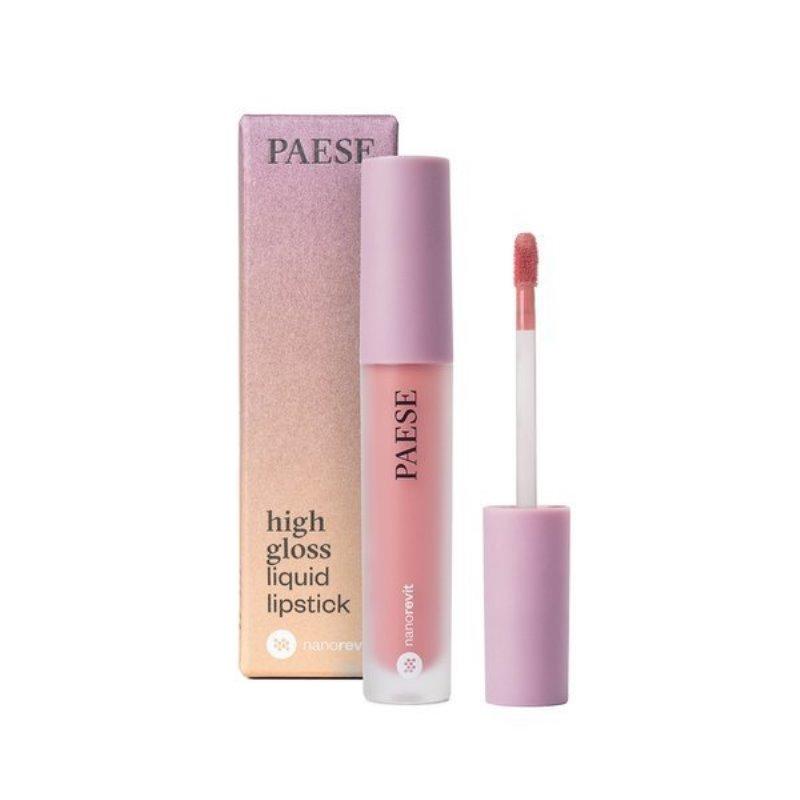 Nanorevit High Gloss Liquid Lipstick pomadka w płynie do ust 50 Bare Lips