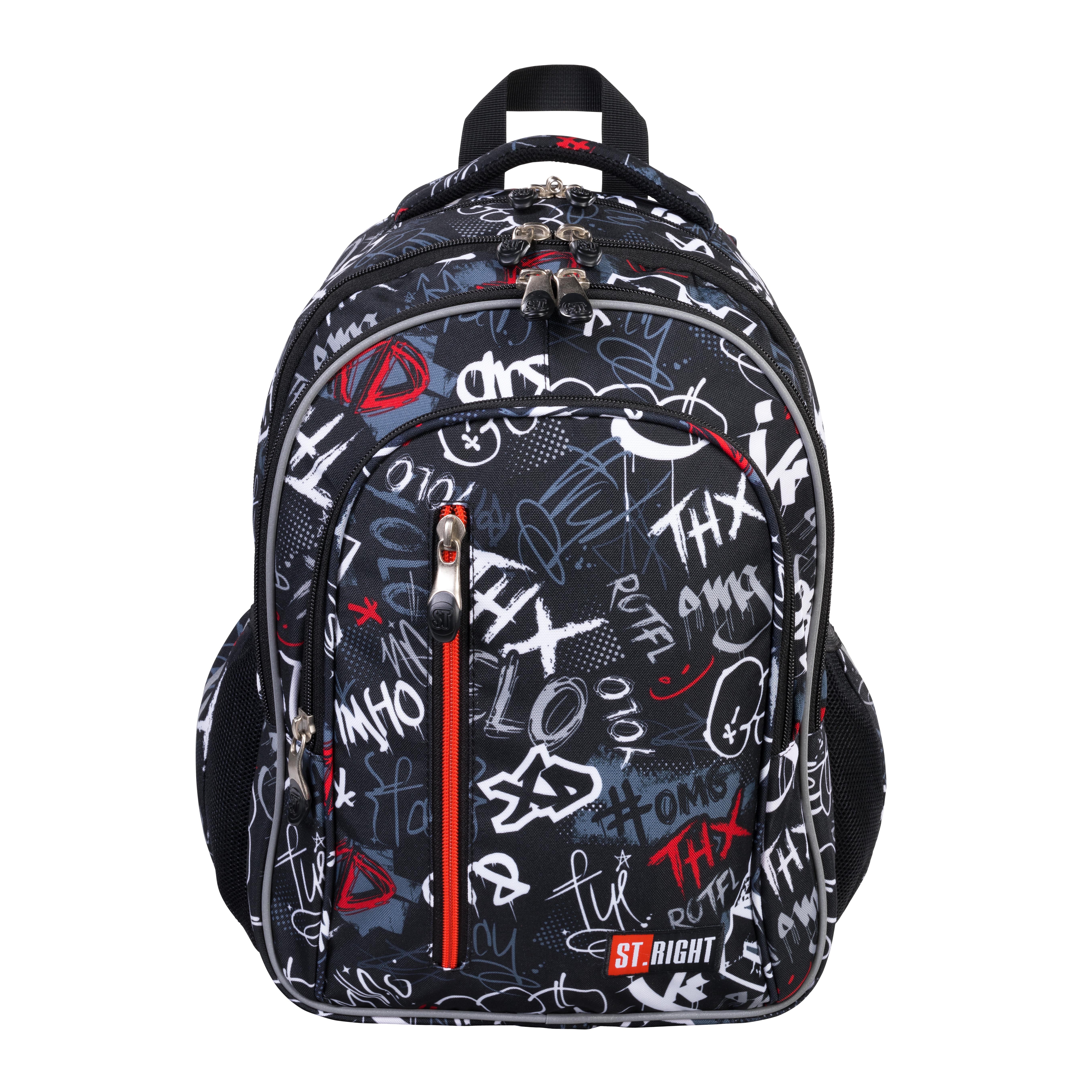 Plecak 4-komorowy BP68 Slang Graffiti