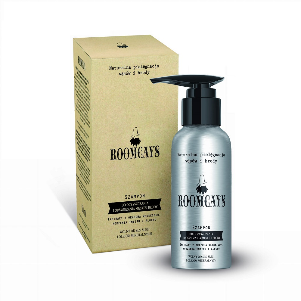 Szampon do oczyszczania i odświeżania męskiej brody