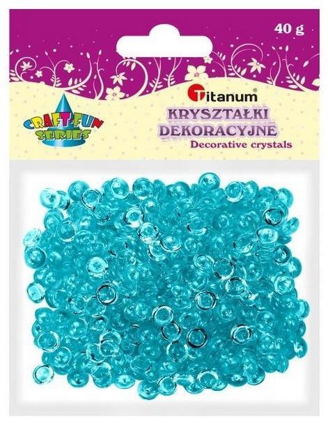 Kryształki dekoracyjne plastikowe