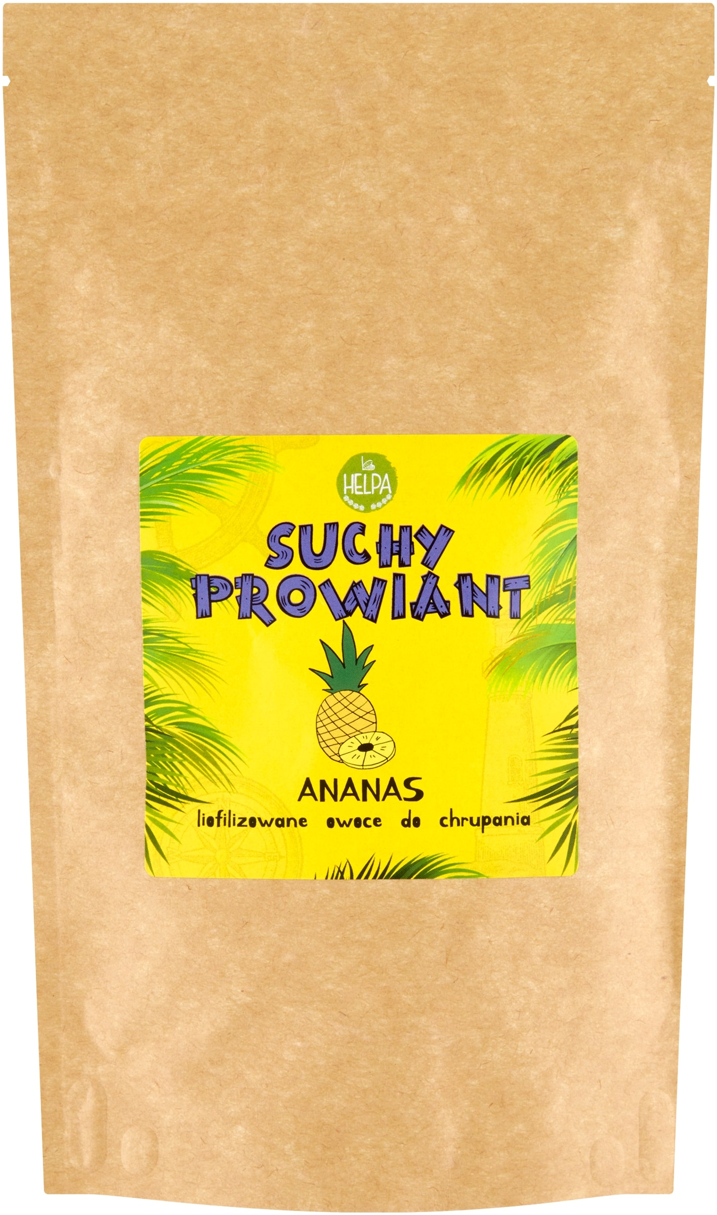 Suchy prowiant Ananas