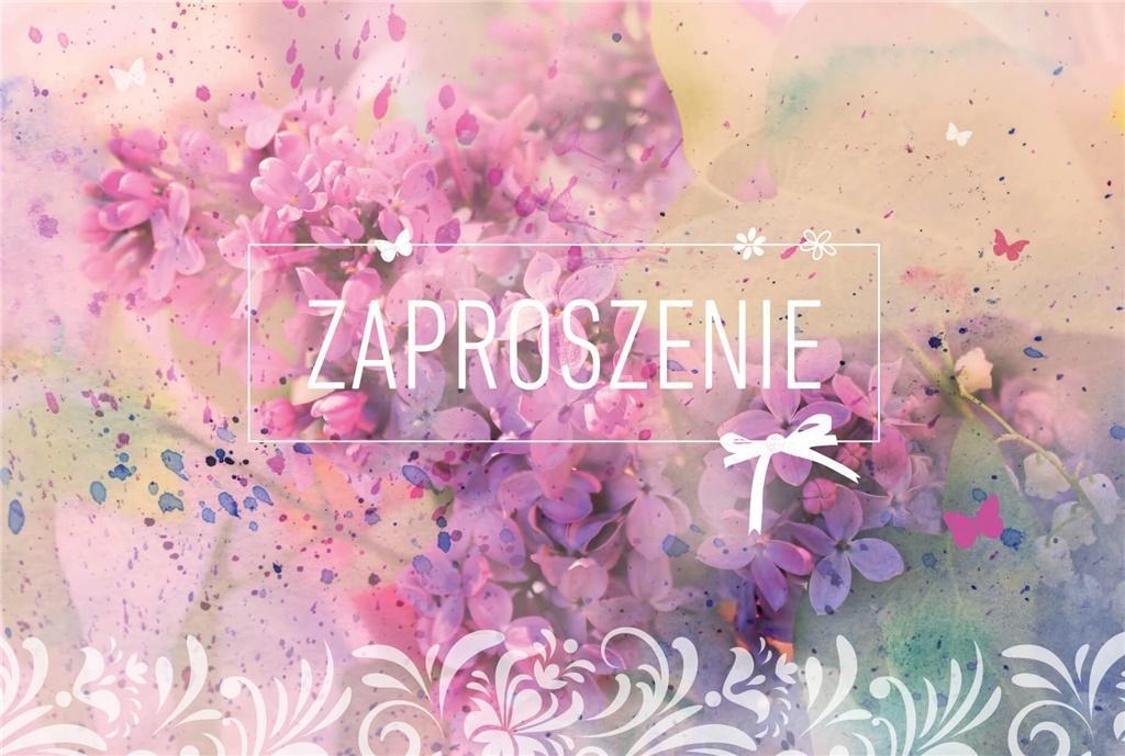 Zaproszenie Urodziny ZA-59 (10 szt.)