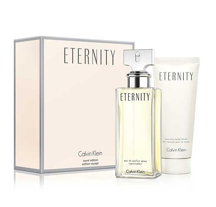 Zestaw dla kobiet Woda perfumowana Eternity Women + Balsam do ciała