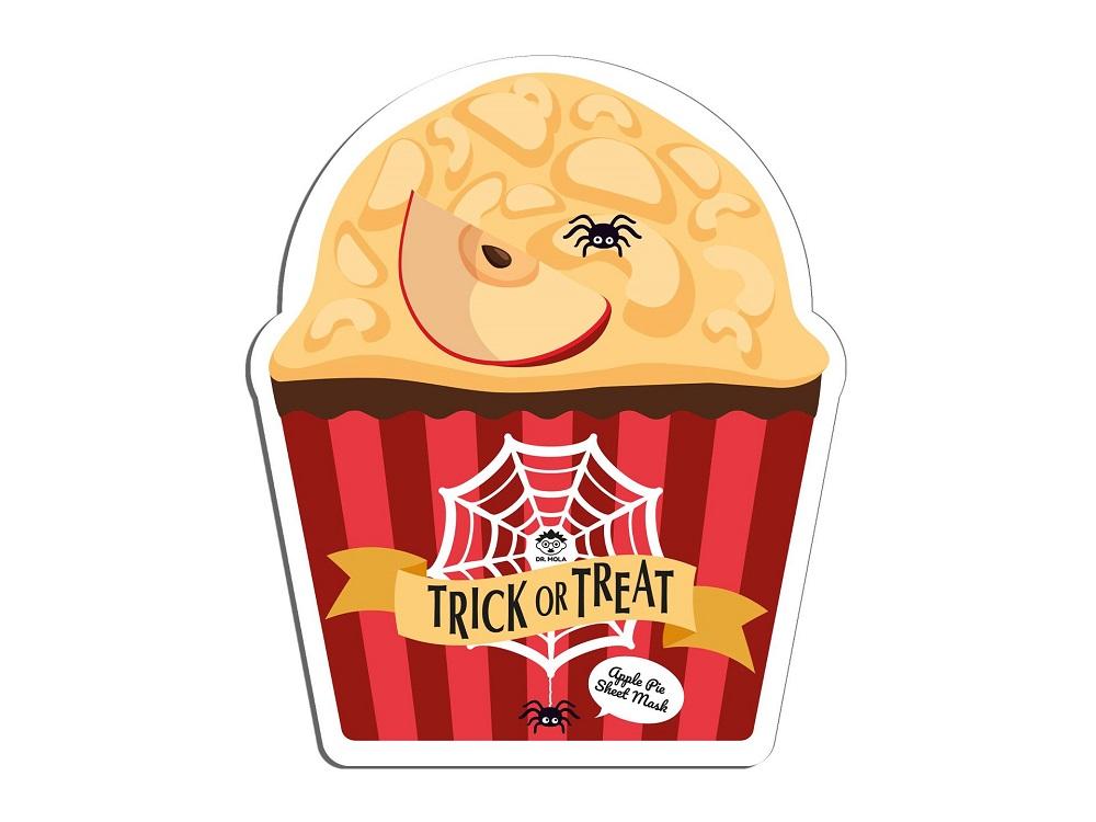 Trick Or Treat Sheet Mask maseczka do twarzy w płachcie detoksykująca Apple Pie