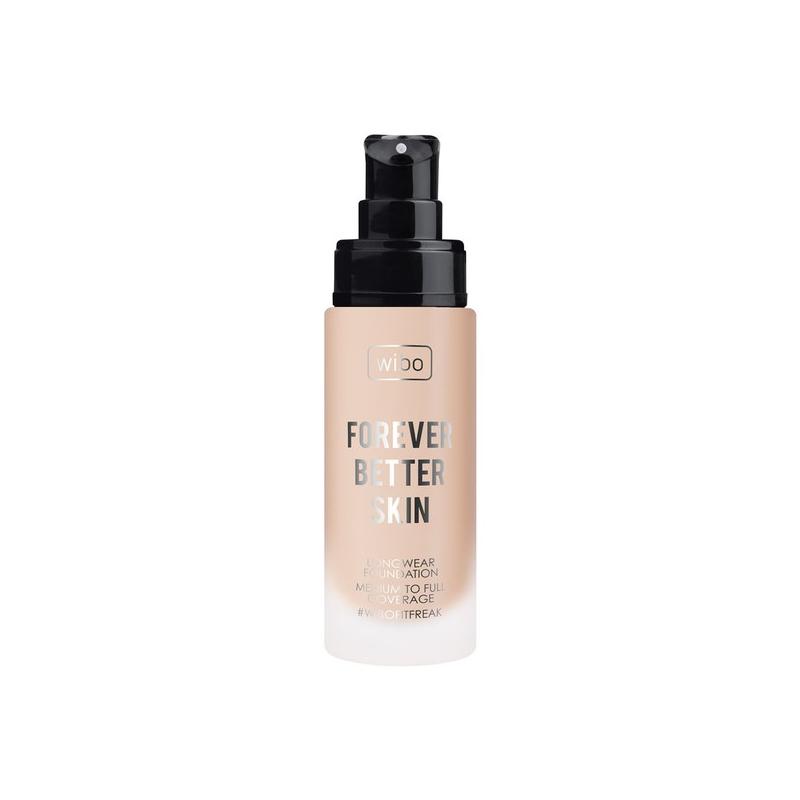 WIBO_Forever Better Skin Foundation długotrwały podkład do twarzy 02 Warm Beige