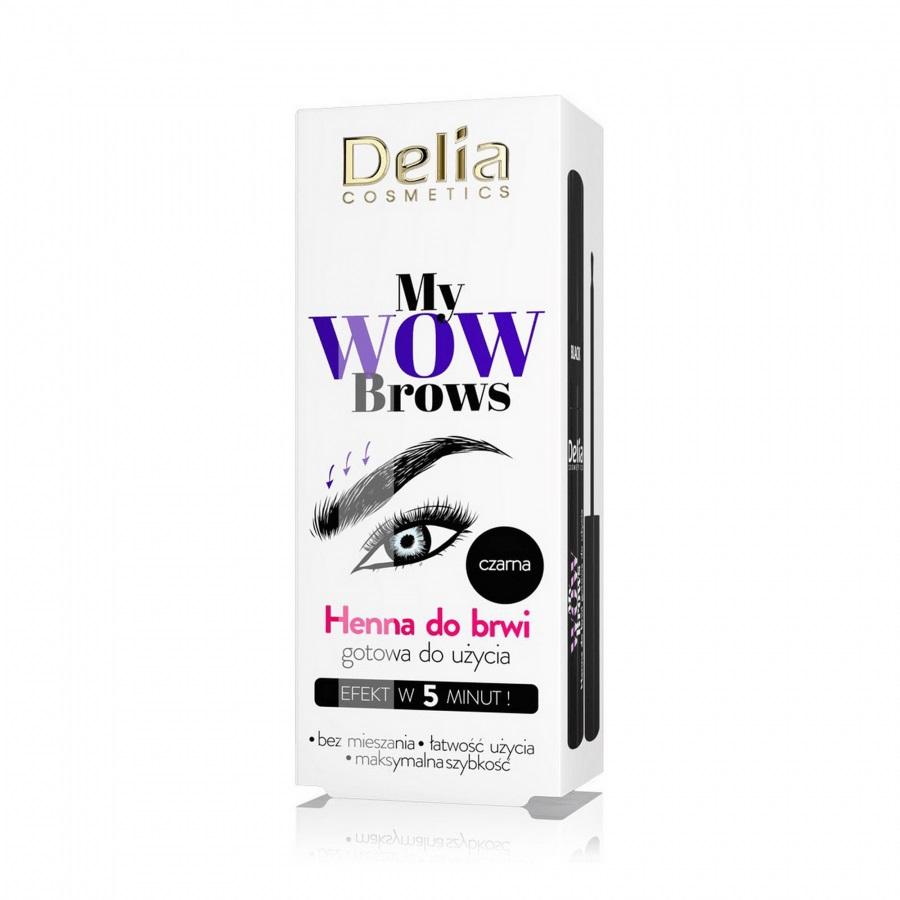 DELIA_My Wow Brows henna do brwi 1.0 Czerń
