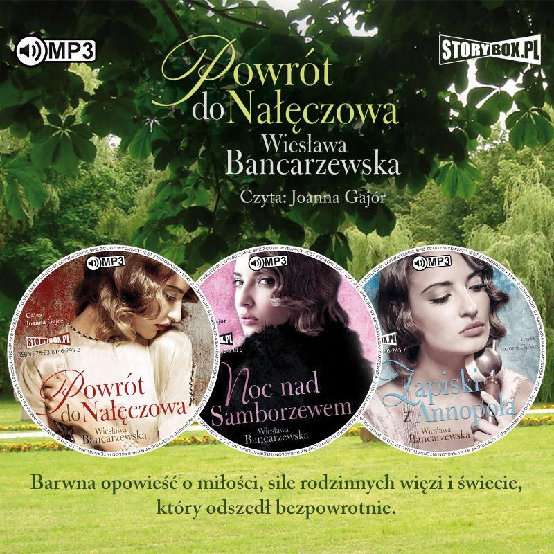 CD MP3 Pakiet Powrót do Nałęczowa