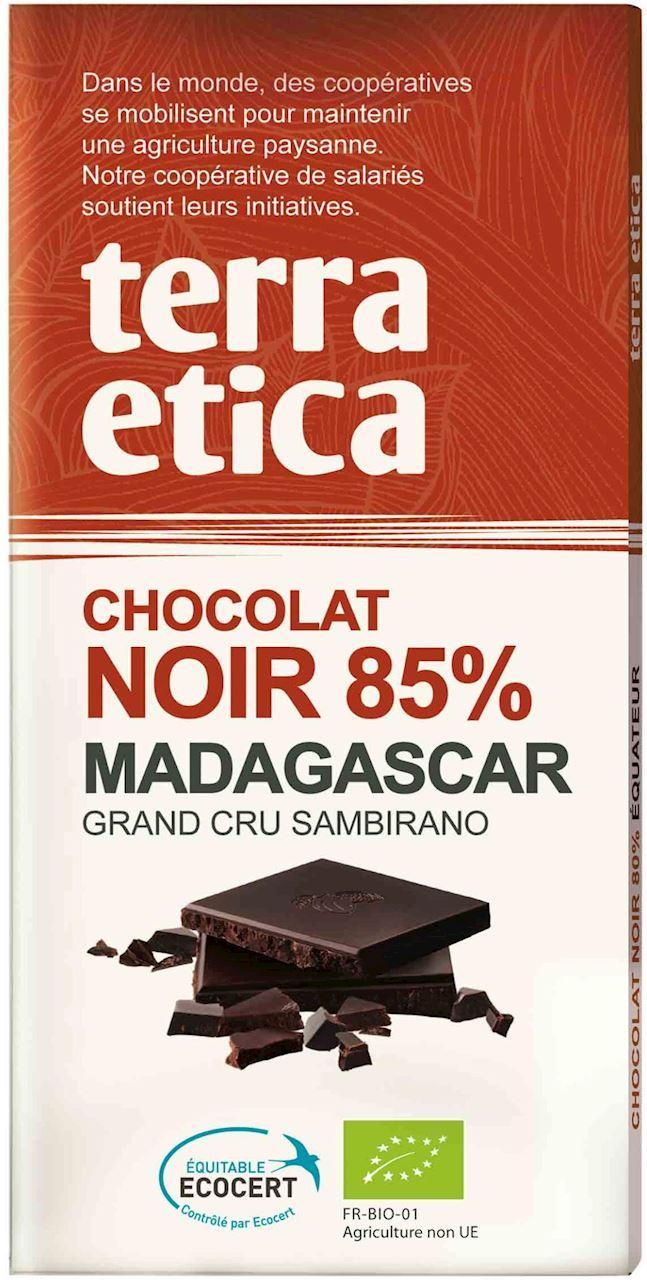 Czekolada gorzka 85% Madagaskar fair trade