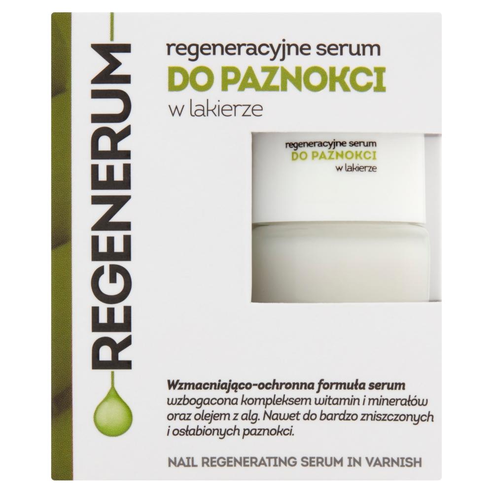 Regeneracyjne serum do paznokci w lakierze