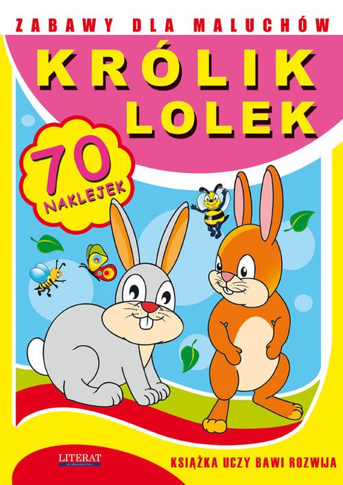 Zabawy dla maluchów Królik Lolek