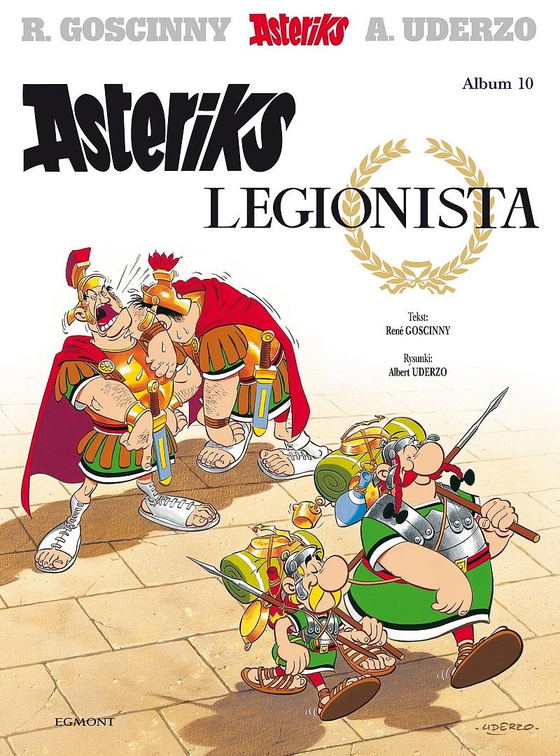 Asteriks Legionista. Asteriks. Album 10