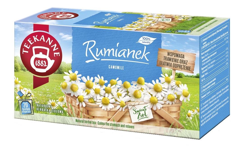 Herbata ziołowa rumiankowa
