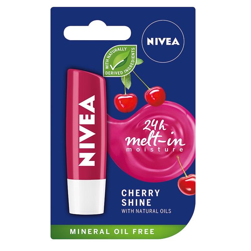 Pomadka do ust Cherry Shine 4 24H Mett-In Moisture