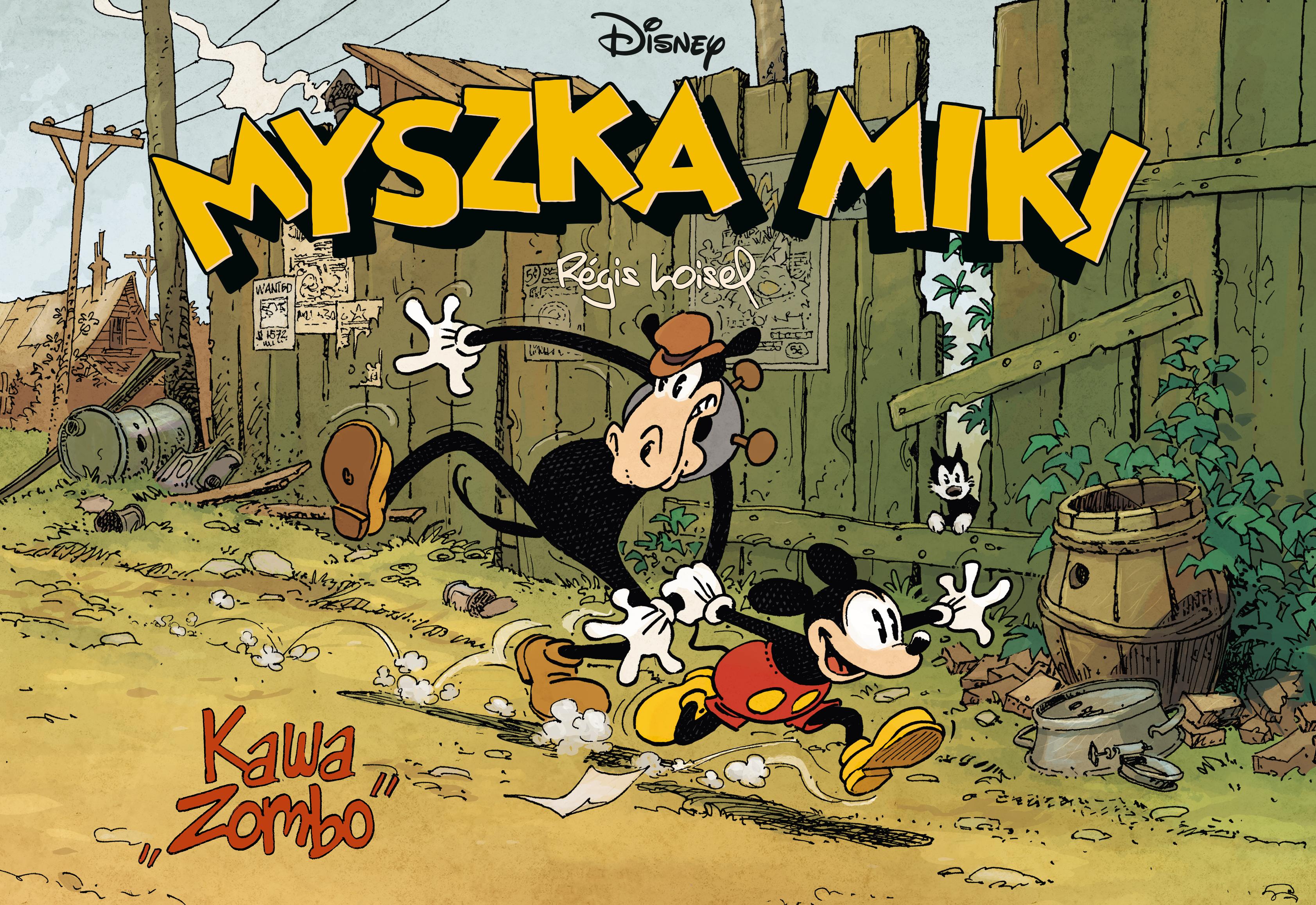 Kawa zombo Myszka Miki