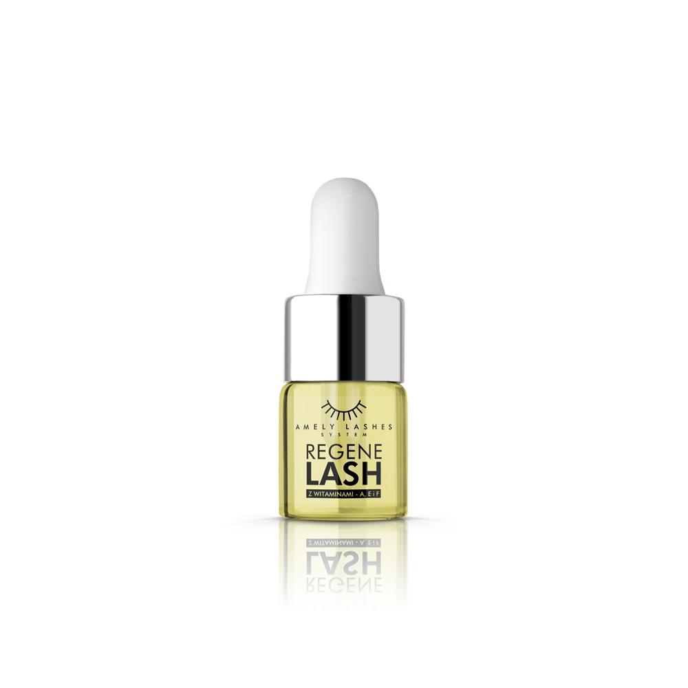 Amely Eyelashes System Regenelash Oil naturalny olejek z witaminami A E F do rzęs