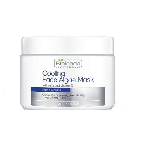 Face Program Cooling Face Algae Mask with Rutin & Vitamin C chłodząca maska algowa do twarzy z Rutyną i Witaminą C