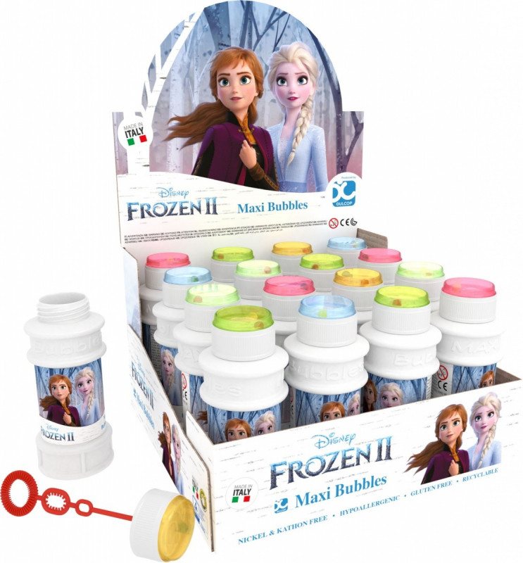 Bańki mydlane 175ml Frozen (16szt)
