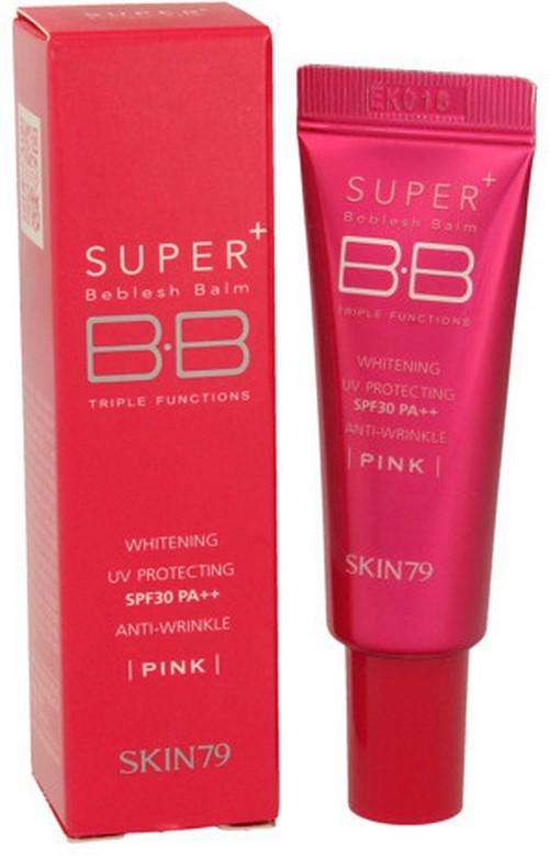 Super+ Beblesh Balm Pink SPF50+ mini krem BB wyrównujący koloryt skóry