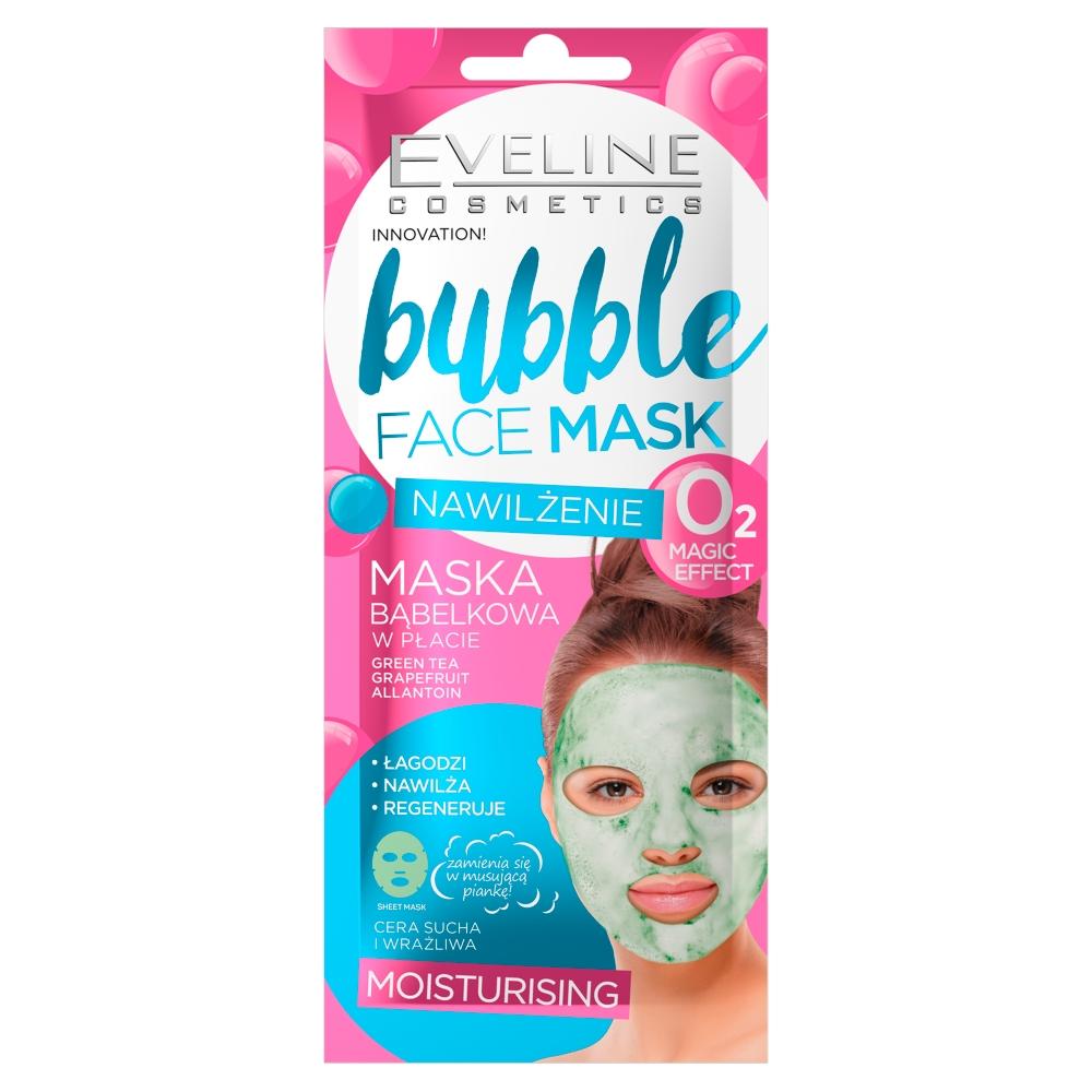 Bubble Face Mask bąbelkowa maska w płachcie Nawilżająca