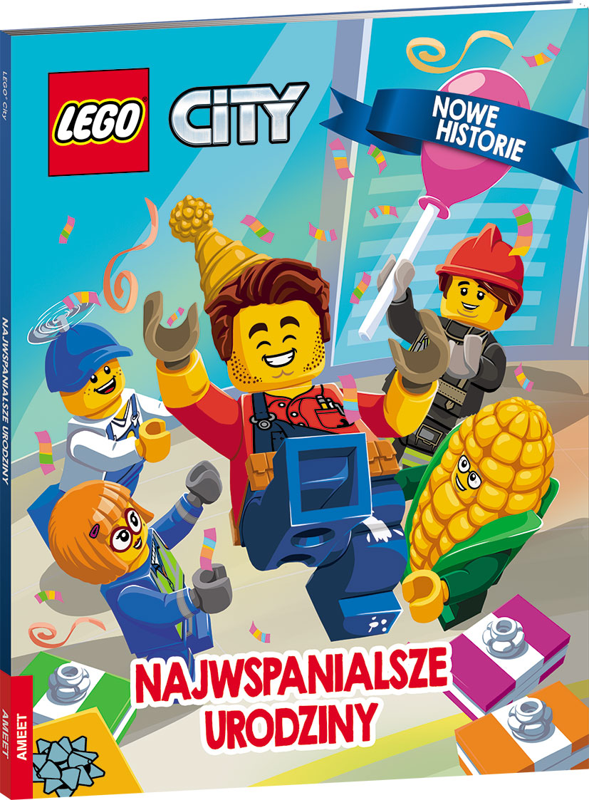 Lego city Najwspanialsze urodziny LWR-6001