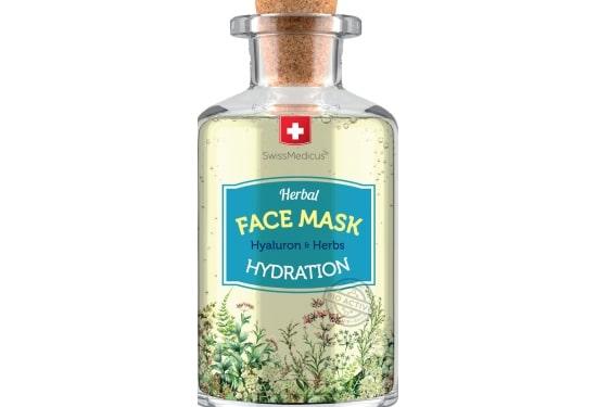 Nawilżająca ziołowa maseczka do twarzy