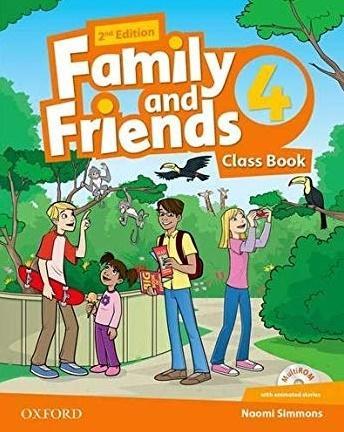 Family and Friends 2E 4 CB  OXFORD