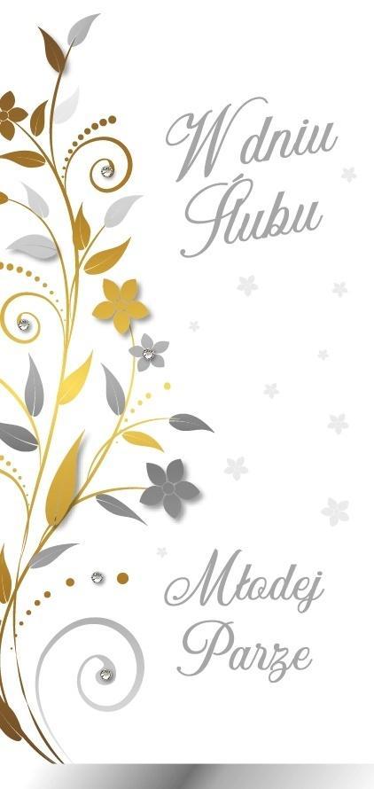 Karnet Ślub DL-107