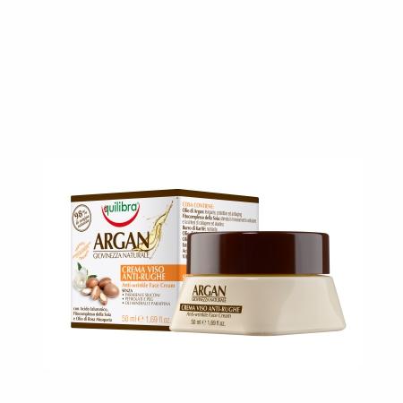 Argan Natural Youth Anti-Wrinkle Face Cream arganowy przeciwzmarszczkowy krem do twarzy Argan