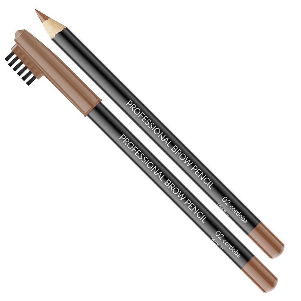 Professional Brow Pencil kredka ze szczoteczką do brwi 02 Cordoba