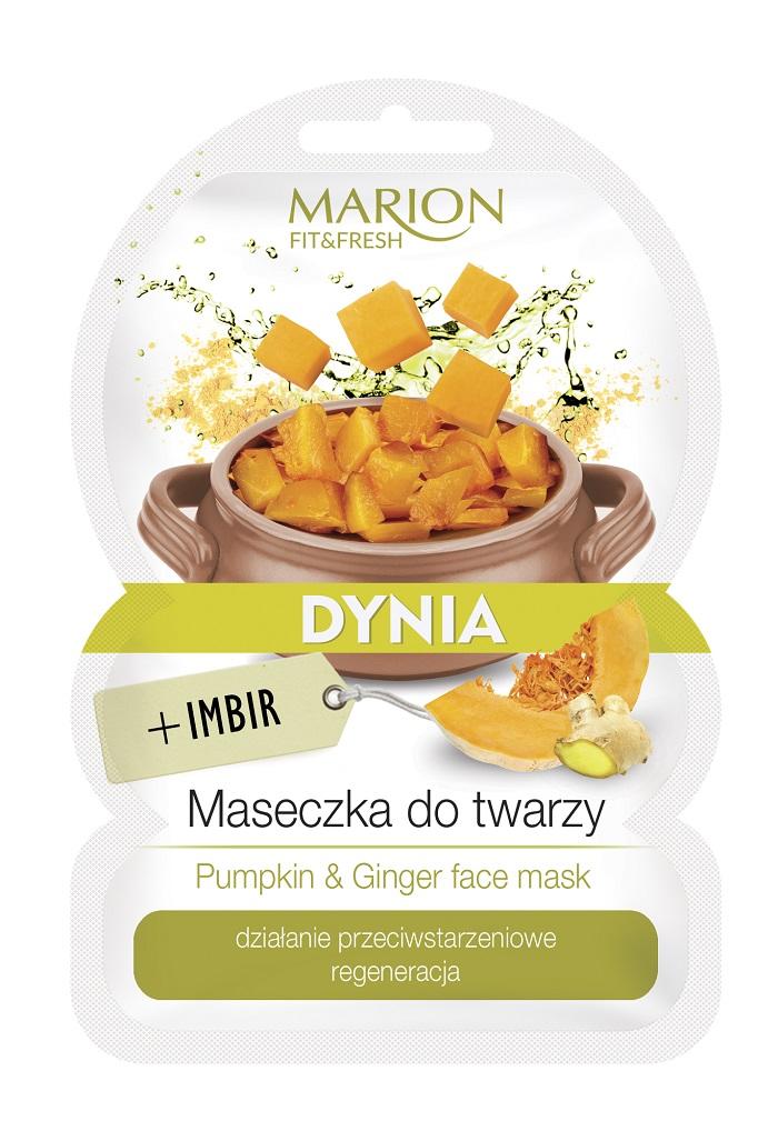 Fit&Fresh Face Mask maseczka do twarzy regeneracja Dynia & Imbir