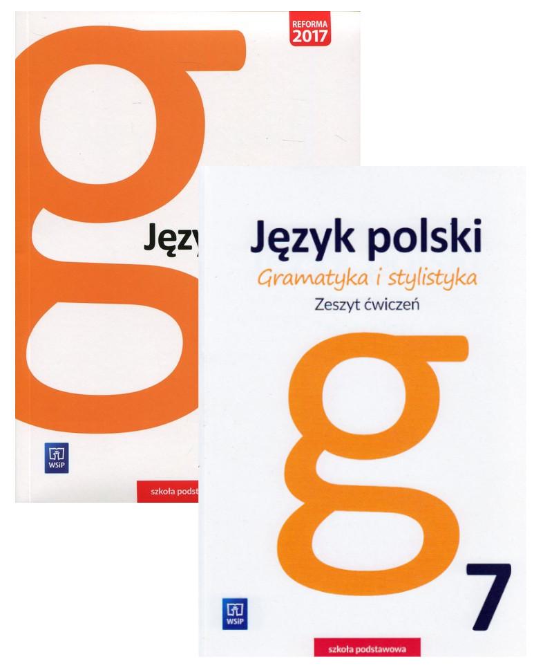 Gramatyka i stylistyka. Podręcznik i zeszyt ćwiczeń do języka polskiego dla klasy 7 szkoły podstawowej