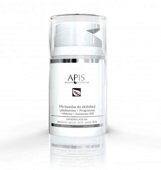 Exfoliation Acid mix kwasów do eksfoliacji Laktobionowy + Pirogronowy + Mlekowy + Azelainowy 40%